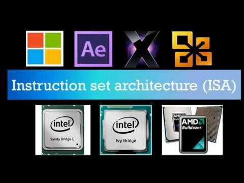 Texplained: What is x86..??What is an Instruction Set Architecture..??32-Bit vs. 64-Bit