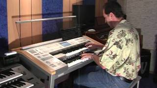 Carmen Overture on Yamaha Electone Stagea ELS-01C Organ H. Mladosevits (Georges Bizet)