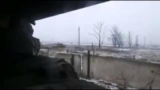 Колона бойовиків, Авдіївка. Знімав боєць ЗСУ!