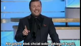Ricky Gervais hosting the 2010 Golden Globes All of his good bits chained PL