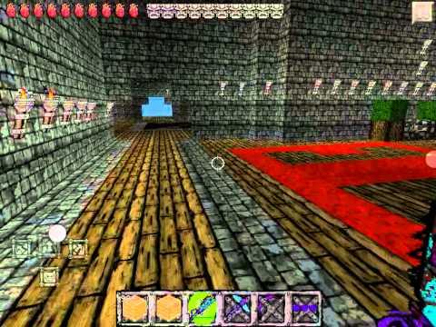 Herobrines mansion custom map minecraft pocket edition!!!