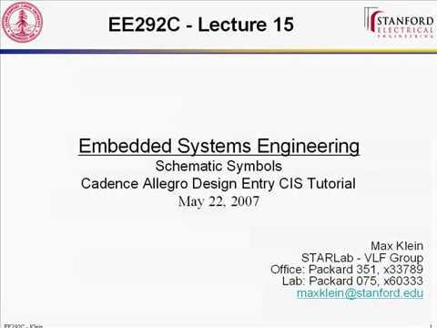 Cadence OrCAD / Allegro Design Entry CIS Demo Tutorial (Part 1)