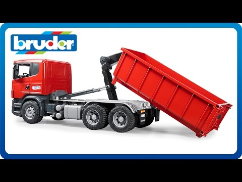 bruder trucks toys r us with Watch on Bru 2812 together with Watch likewise Watch furthermore John Deere Gator Xuv Ride On Tractor in addition Bruder Scania R Series Orange Toy Garbage Truck.
