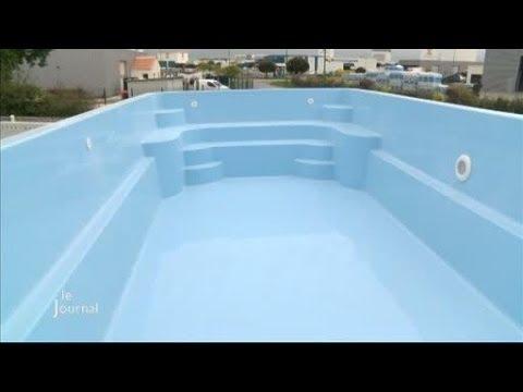 Reportage chez un fabricant de piscines (La Chapelle-Achard)