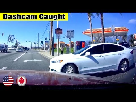 Ultimate North American Cars Driving Fails Compilation - 163 [Dash Cam Caught Video]