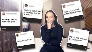 SVARER PÅ DERES RYKTER OM MEG