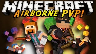 Minecraft Mini-Game : AIRBORNE PVP! thumbnail