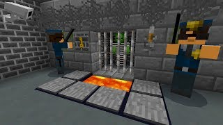 PRISON ESCAPE in Minecraft Pocket Edition (CAN YOU ESCAPE)