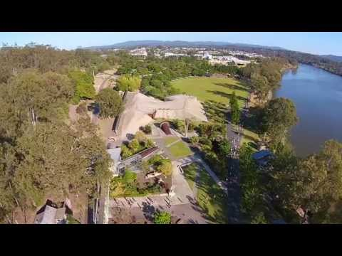 Rocks Riverside Parkrun flyover with DJI Phantom 2 Vision+