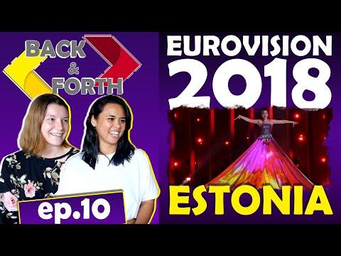 Americans react to Eurovision 2018 Elina Nechayeva La Forza [ ESTONIA ]