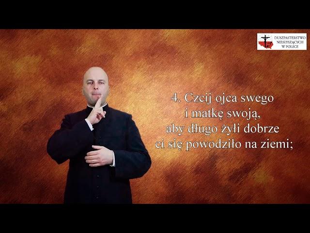 Modlitwy migane - Dekalog - 10 Przykazań Bożych