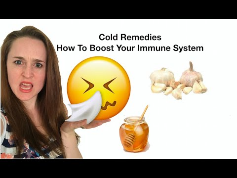 Cold Remedies | Natural Supplements to Boost Your Immune System