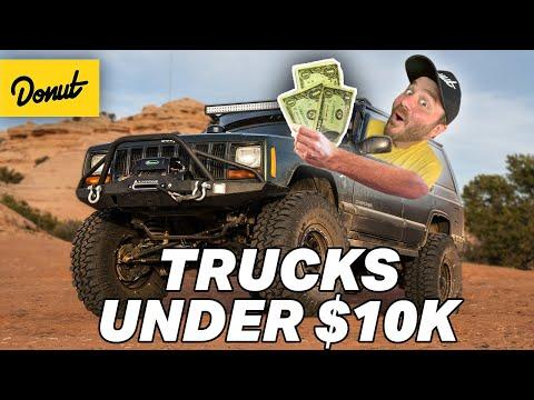 10 Best TRUCKS Under $10k