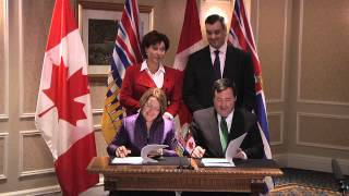 Governments of Canada and British Columbia take action to create jobs