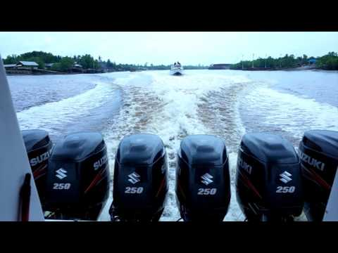 Speed boat from Selatpanjang port to Buton port