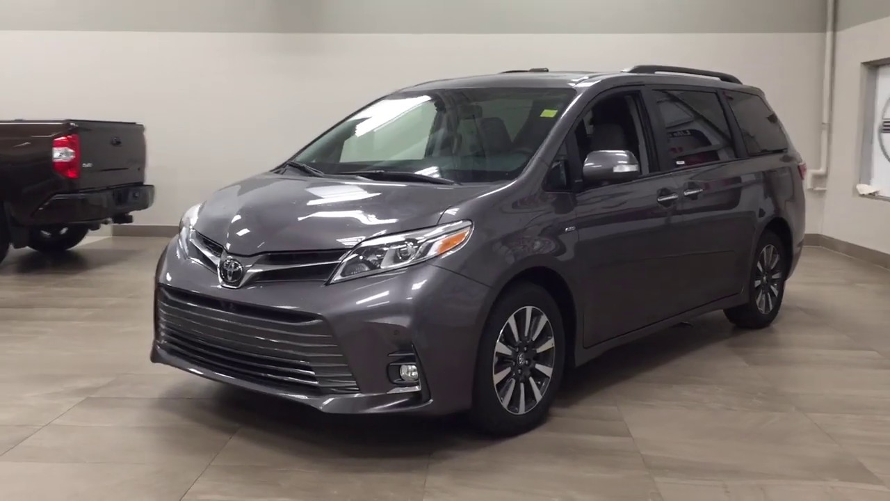 2020 toyota sienna limited awd review youtube 2020 toyota sienna limited awd review