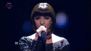 "Austria: ""The Secret is Love"",  Nadine Beiler - Eurovision Song Contest Semi Final 2011 - BBC Three"