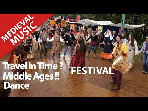 Medieval and Renaissance festival ! Ancient street music from middle ages. knights fights.