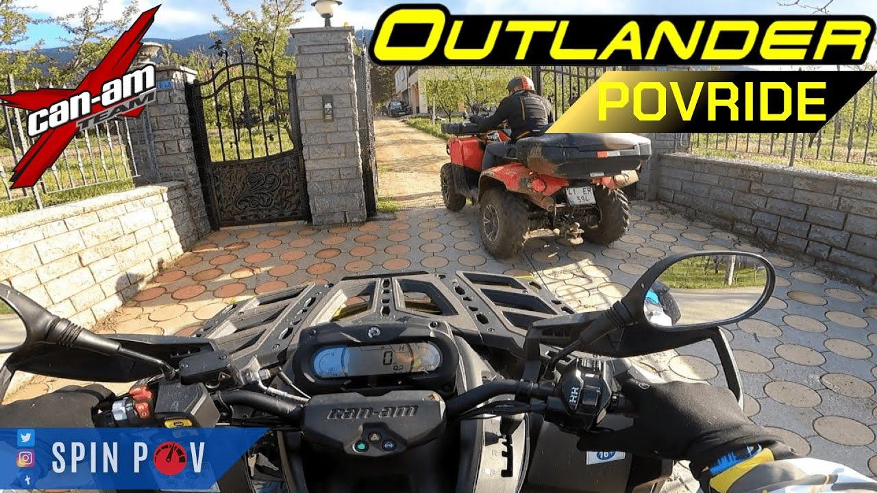 Download 2020 Can-Am OUTLANDER XTP 1000 - Arctic Cat - POV Test Drive