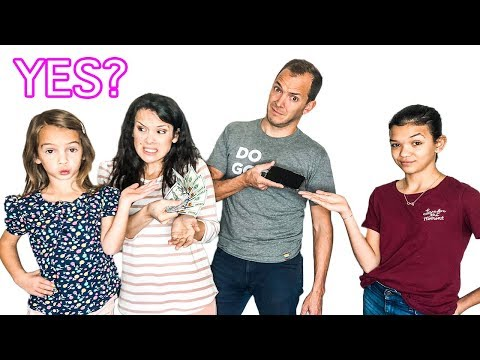PARENTS say YES to EVERYTHING for 24 hours!!