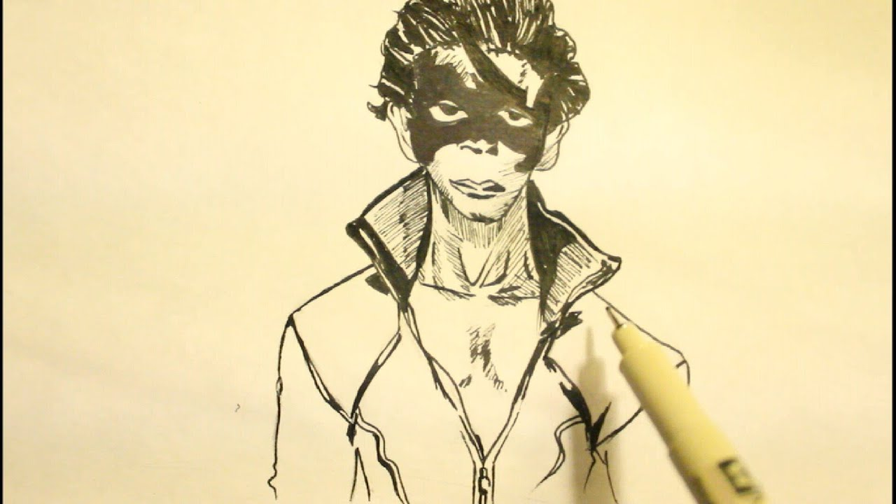 How To Draw Super Hero Krish Step By Hrithik Roshan