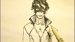 How to draw super hero Krish Step By Step   Hrithik Roshan
