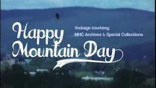 Vintage Mountain Day || Happy Mountain Day 2014!!!