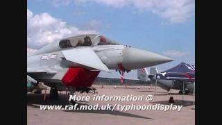 RAF Eurofighter Typhoon Display 2011
