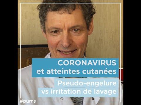 Coronavirus: traiter les irritation de la peau - Pr V. DESCAMPS #PuMS
