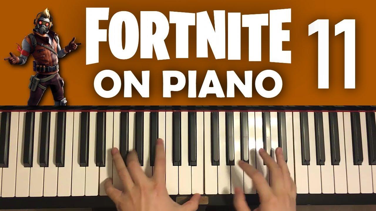 FORTNITE DANCES ON PIANO (Part 11)
