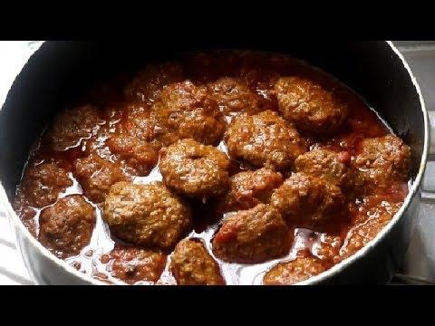 Aghani  Meat Balls Stew کفته افغانی