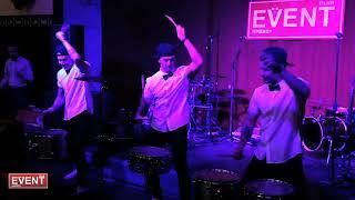 """Шоу барабанщиков """"Ритмикон"""". Выставка EVENT CLUB Ижевск. 18.02.18"""