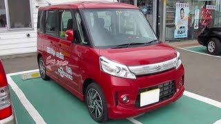 2013 New Suzuki Spacia Custom - Exterior & Interior