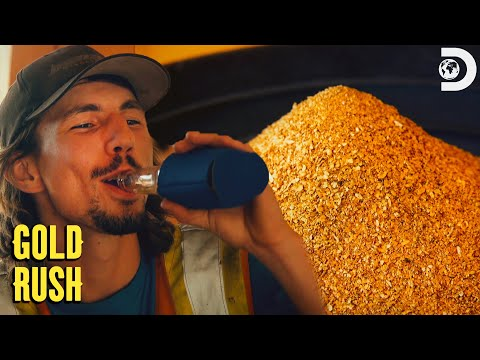 Parker Hits Nearly A Half-Million Dollars in One Week! | Gold Rush