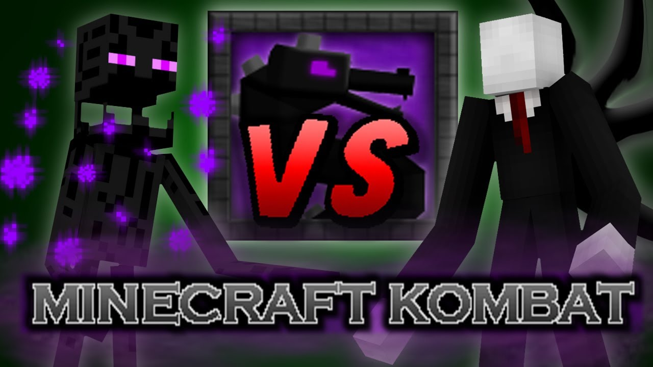 minecraft kombat slenderman vs enderman youtube