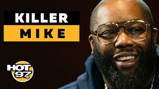 Killer Mike On Super Bowl Protests, Bernie Sanders + Things He Learned From 'Trigger Warning'