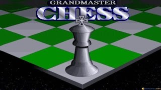 Grandmaster Chess gameplay (PC Game, 1992)