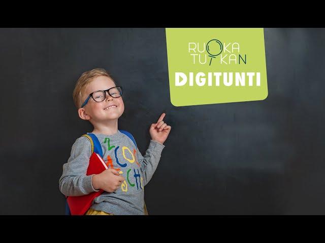 Thumbnail of video called Kouluruoka – entäs jos sitä ei olisi? 8.10.2020 | RuokaTutkan digitunnit