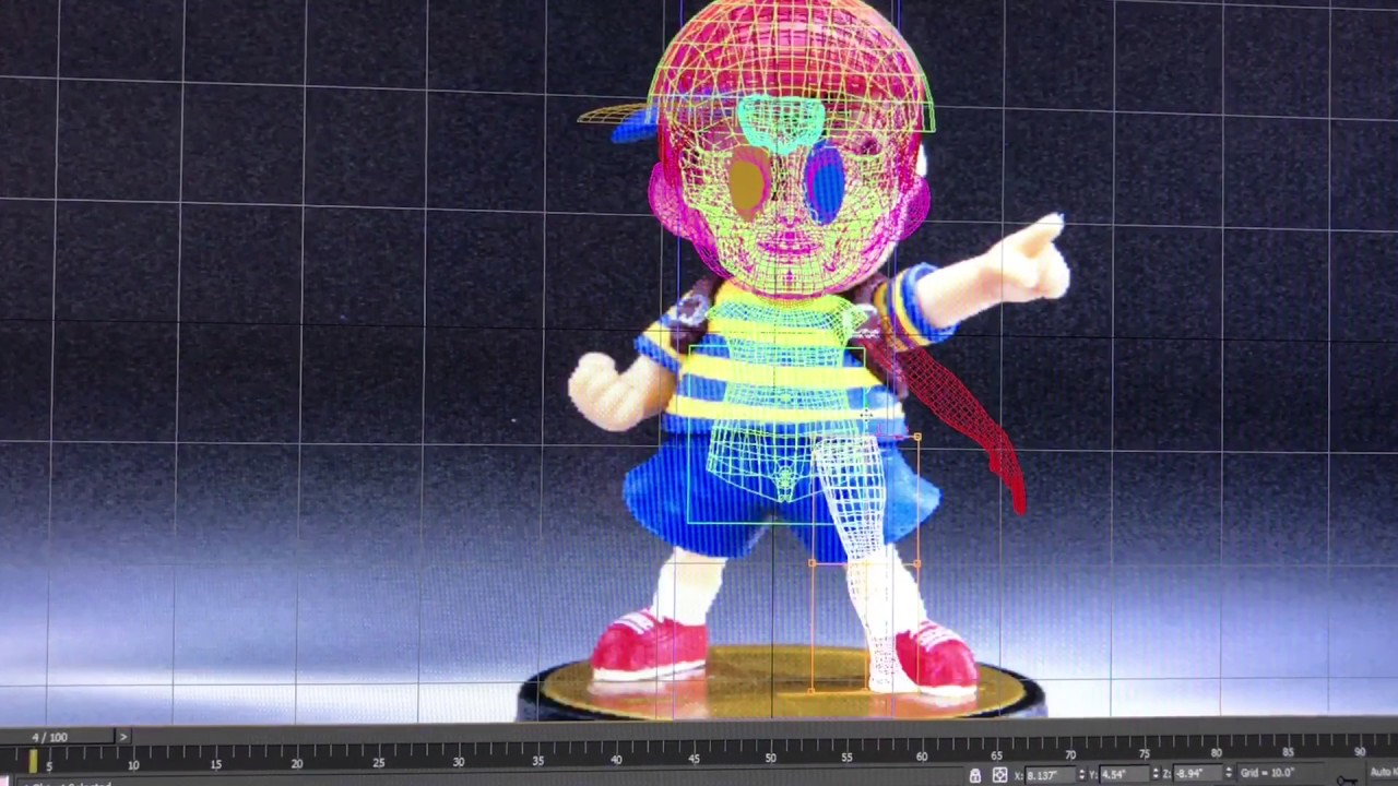 How to Make Earthbound 3d in 1 Minute Part 4: Body Sculpt - YouTube