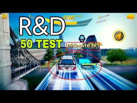 Asphalt 8 | R&D 50 TEST_Mercedes-AMG C63 Coupe Touring Car 2014