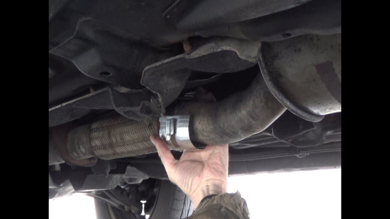 Repairing Car Exhaust System