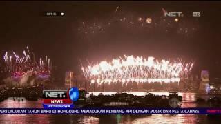 500 Kg Kembang Api Meriahkan Perayaan Tahun Baru di Selandia Baru - NET24