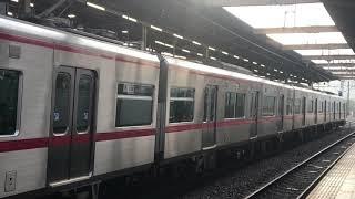 名鉄3307F+3171F 準急国府622レ本宿駅発車
