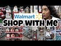 Walmart Christmas Shop With Me / Christmas Home Decor / Gifts / Shopping Vlog