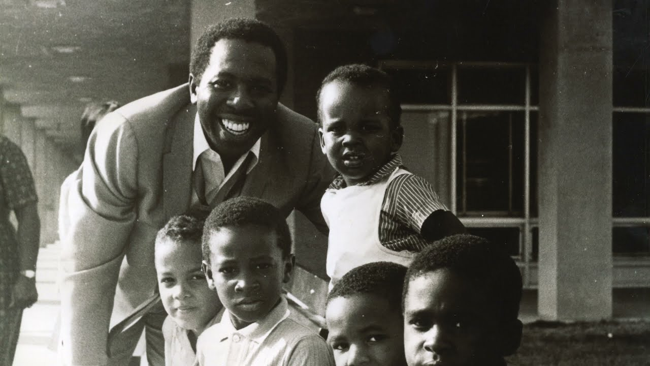 A Young Curtis Mayfield And Some Of His Children