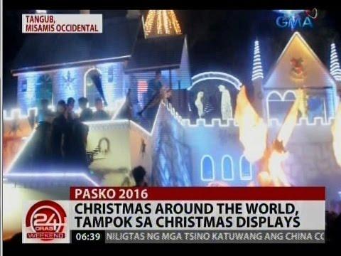 Christmas around the world, tampok sa Christmas displays sa Tangub ...