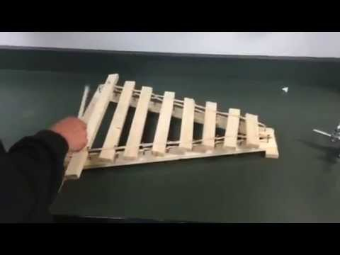 Wood Xylophone Physics Project