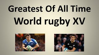 Greatest of all time: World Rugby XV