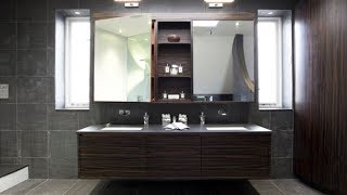 25 Floating Sink Cabinets and Bathroom Vanity Ideas