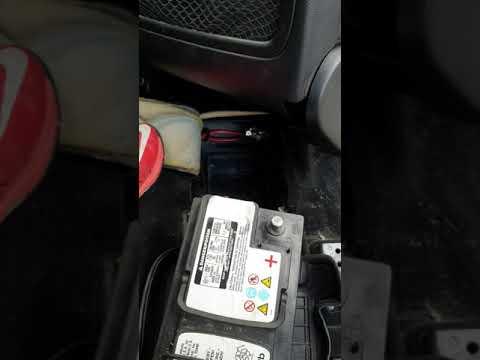 Замена аккумулятора Mercedes ML W164